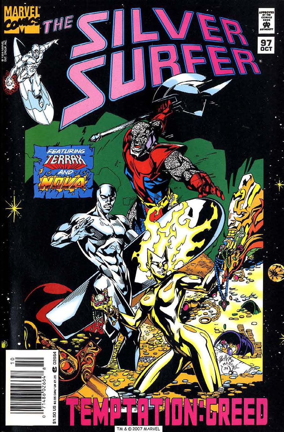 Read online Silver Surfer (1987) comic -  Issue #97 - 1