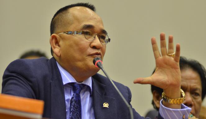 Ruhut Sitompul Sebut Ibas Yudhoyono Mirip Tukang Parkir