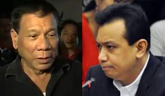 Sen. Trillanes IV: No. 1 spot Duterte's survey was rigged