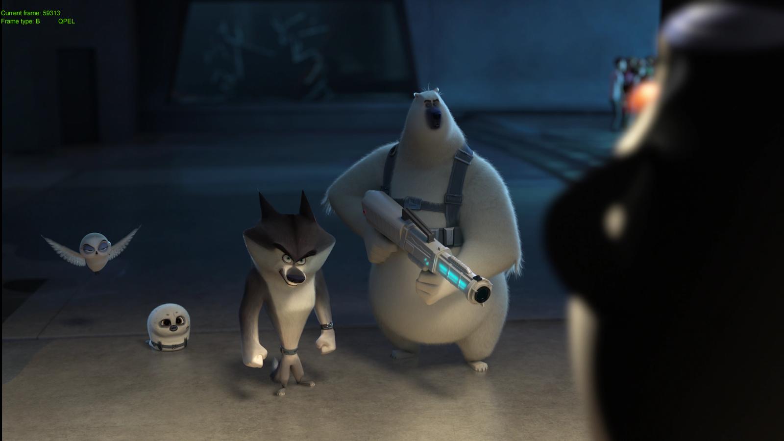 Los Pingüinos De Madagascar (2014) 1080p BD25 3D 4