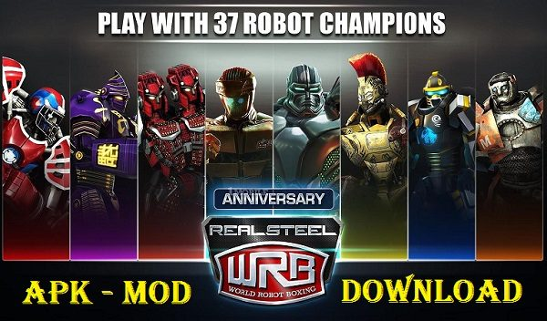 Real Steel World Robot Boxing Mod APK Download