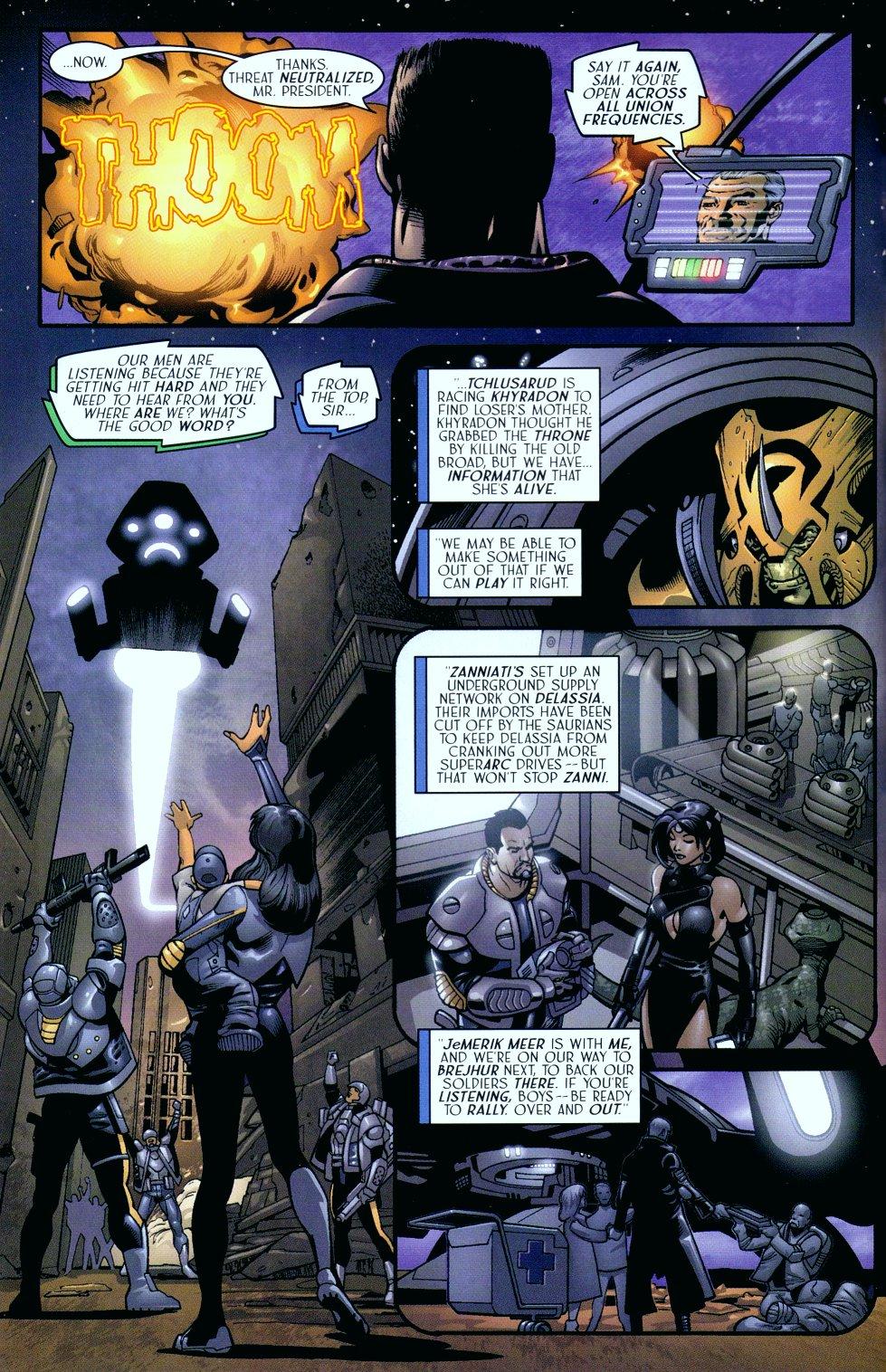 Read online Sigil (2000) comic -  Issue #18 - 5