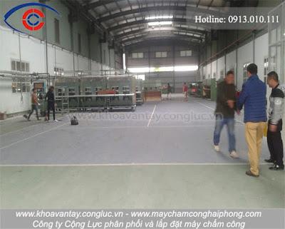 Nhà xưởng sản xuất của công ty Hoàng Việt.