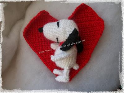 Snoopy au crochet