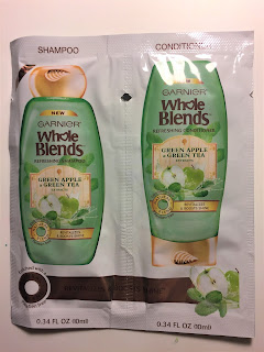 Garnier Whole Blends Refreshing Shampoo and Conditioner in Green Apple & Green Tea