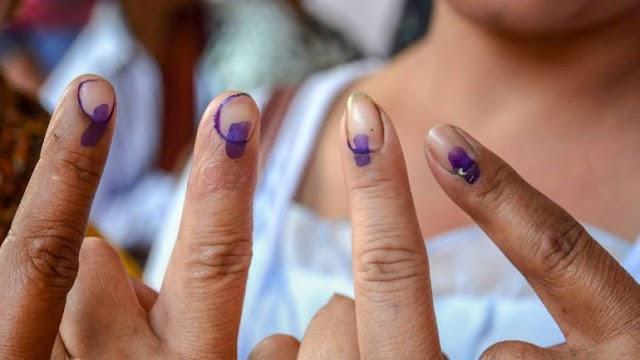 आखिरी चरण का चुनावी घमासान, 59 सीटों के लिए मतदान जारी