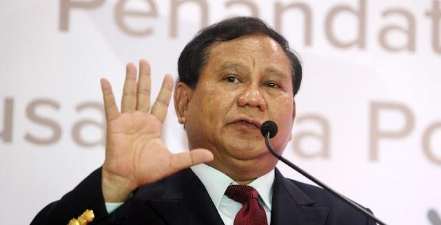 [Hot News] KMP Tamat, Prabowo: Pendekar Tidak Takut Berjalan Sendiri!