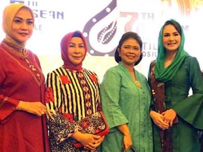 Widya Murad Ismail dan Joice Fatlolon Promosi Tais Pet di Simposium ASEAN 2019
