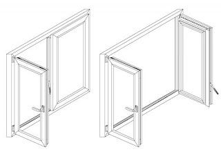 Распашные окна Волгоград изготовление плюс монтаж