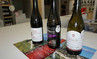 Roaix Séguret cooperative wines to be tasted