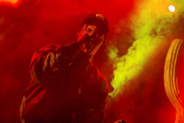 Rapper Travis Scott pleads not guilty to inciting a riot