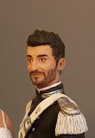 statuette personalizzata sposo in alta uniforme carabinieri orme megiche