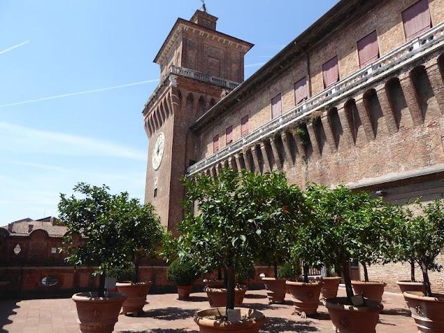 il giardino degli aranci nel castello d'este