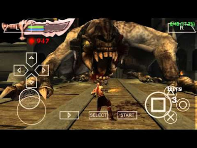 God of War Chains of Olympus PSP on Android Apk Terbaru