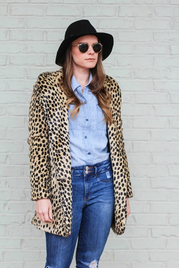Leopard Coats and Denim