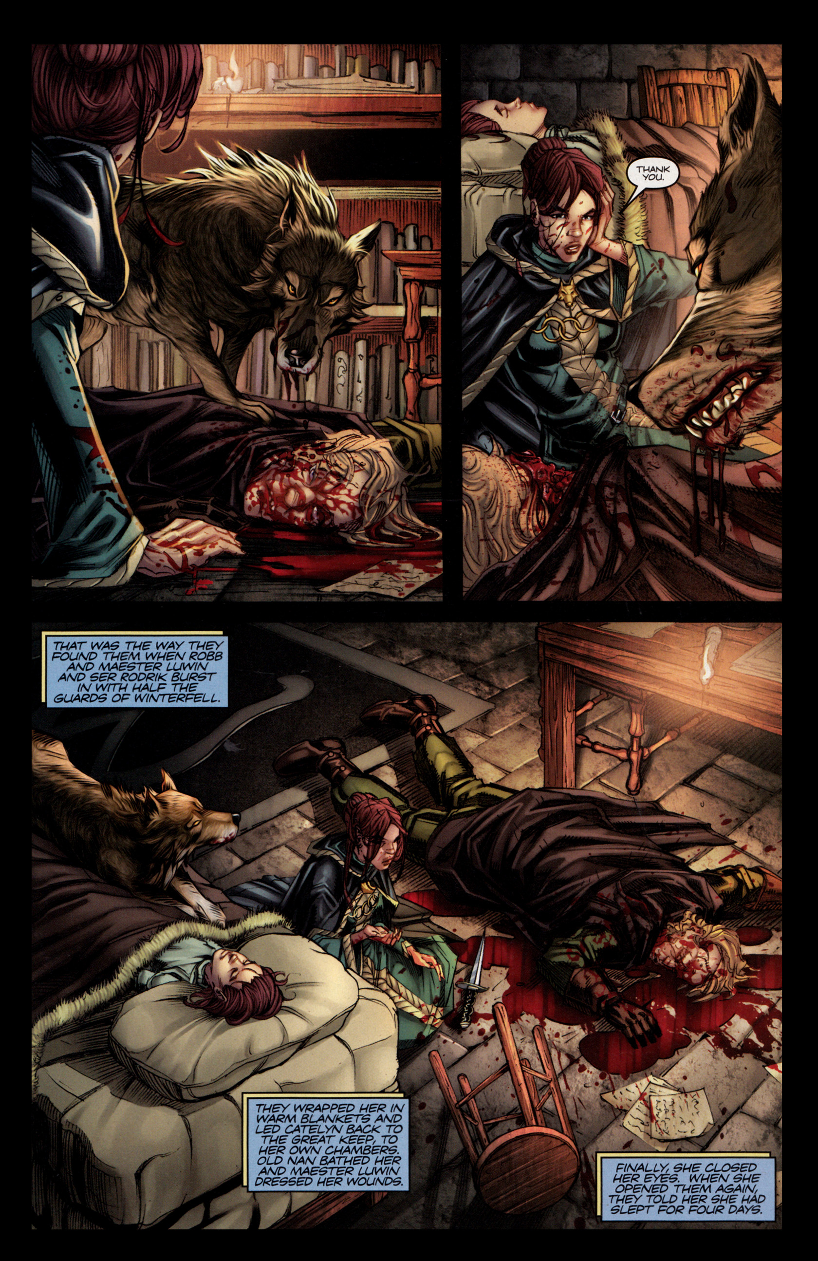 Read online A Game Of Thrones comic -  Issue #4 - 27