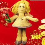 http://www.galamigurumis.com/patron-del-angel-campana-con-tulipan/