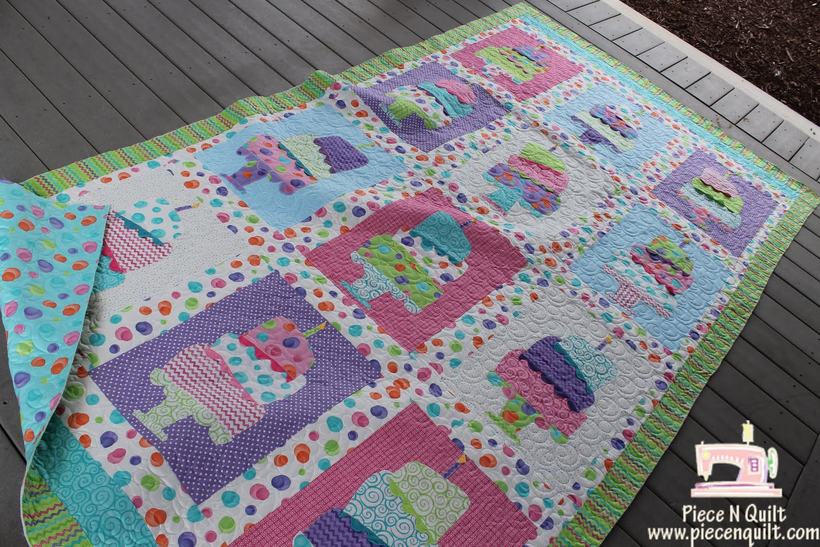 Piece N Quilt Birthday Party Quilts