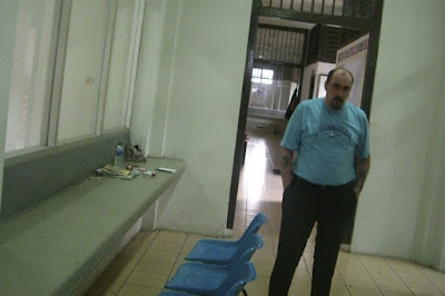Serge Atlaoui in Cipinang prison in 2007