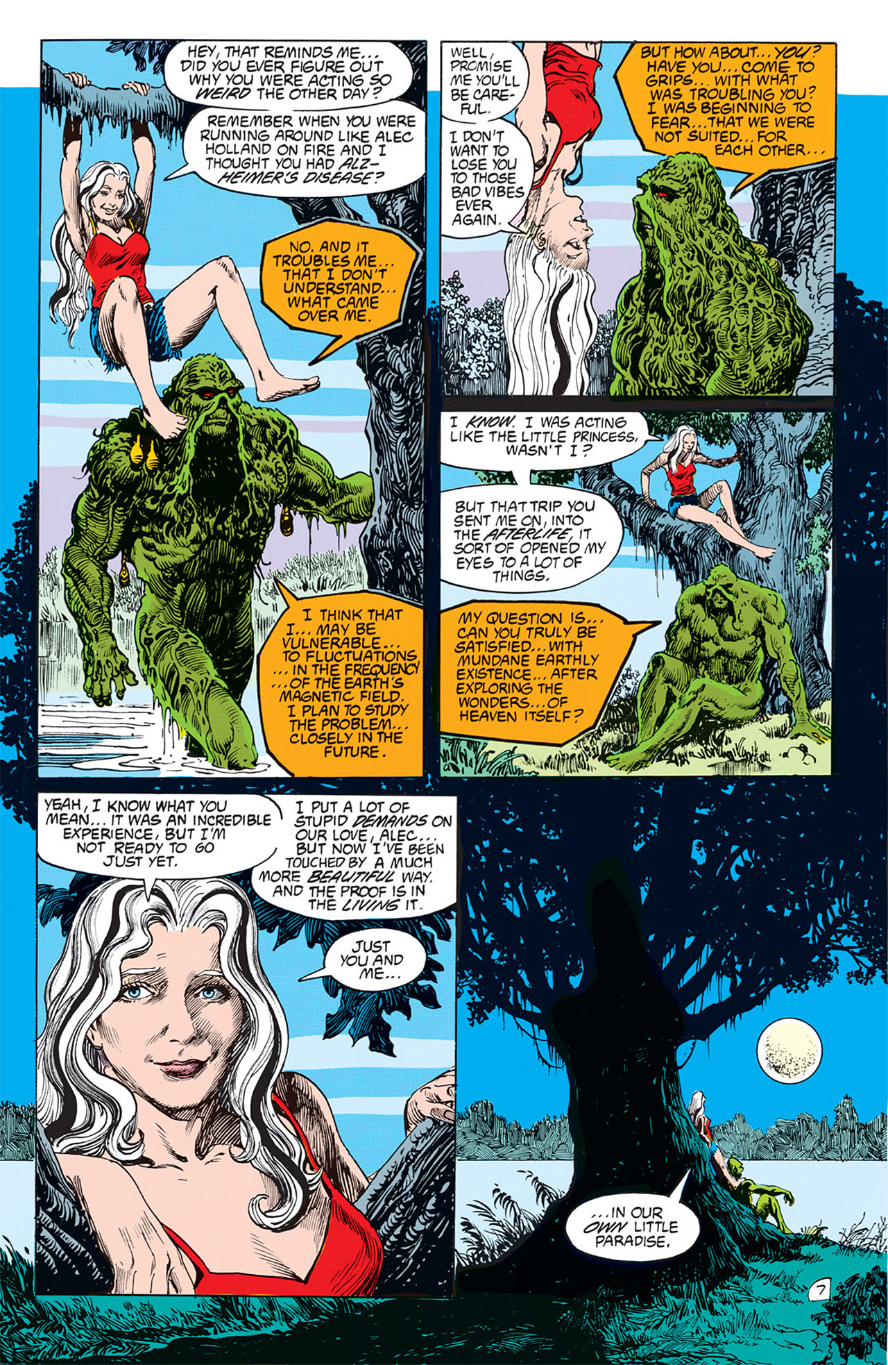 Swamp Thing (1982) Issue #67 #75 - English 9