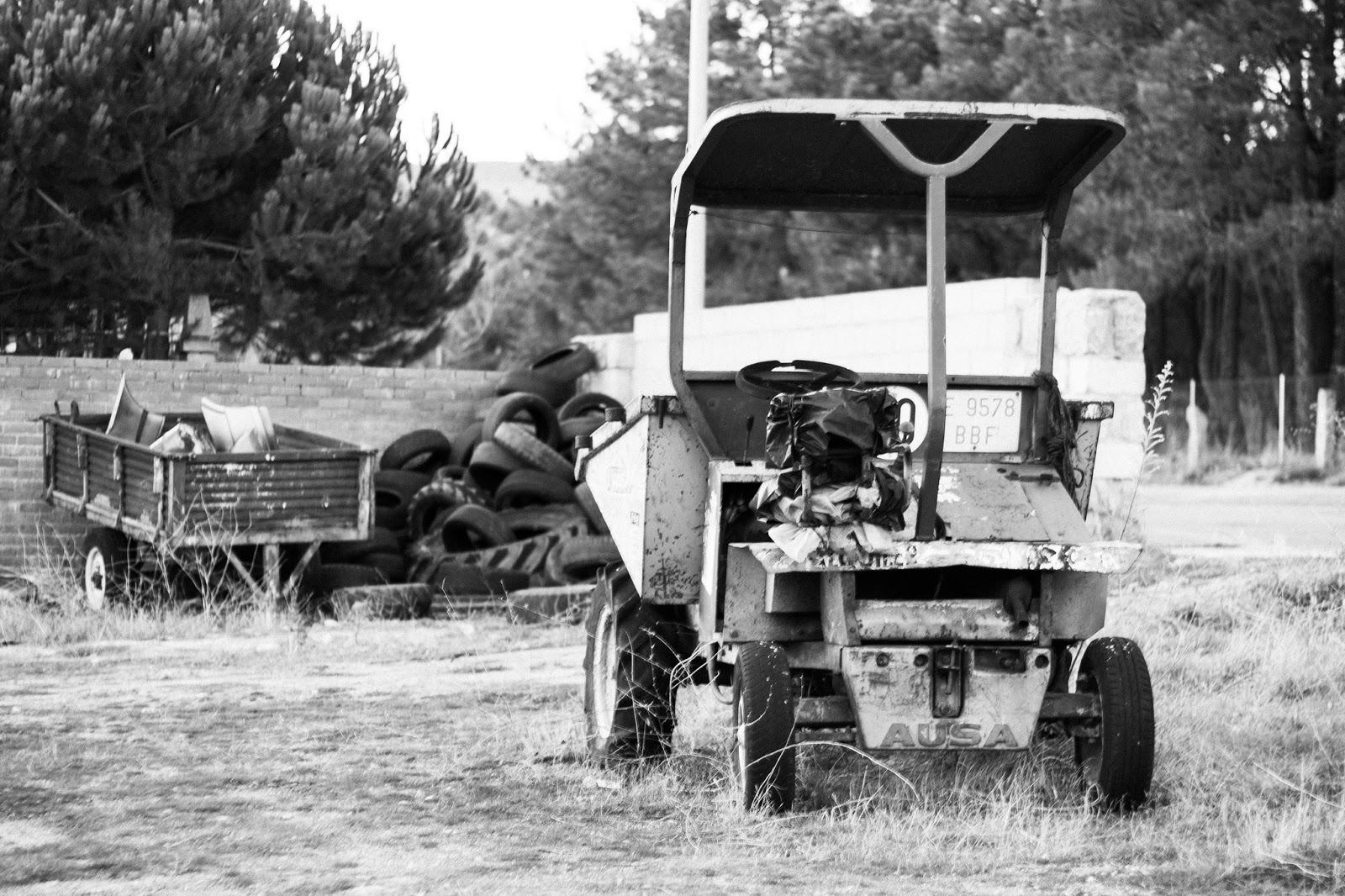 Tractor, El Barraco, Avila 2013