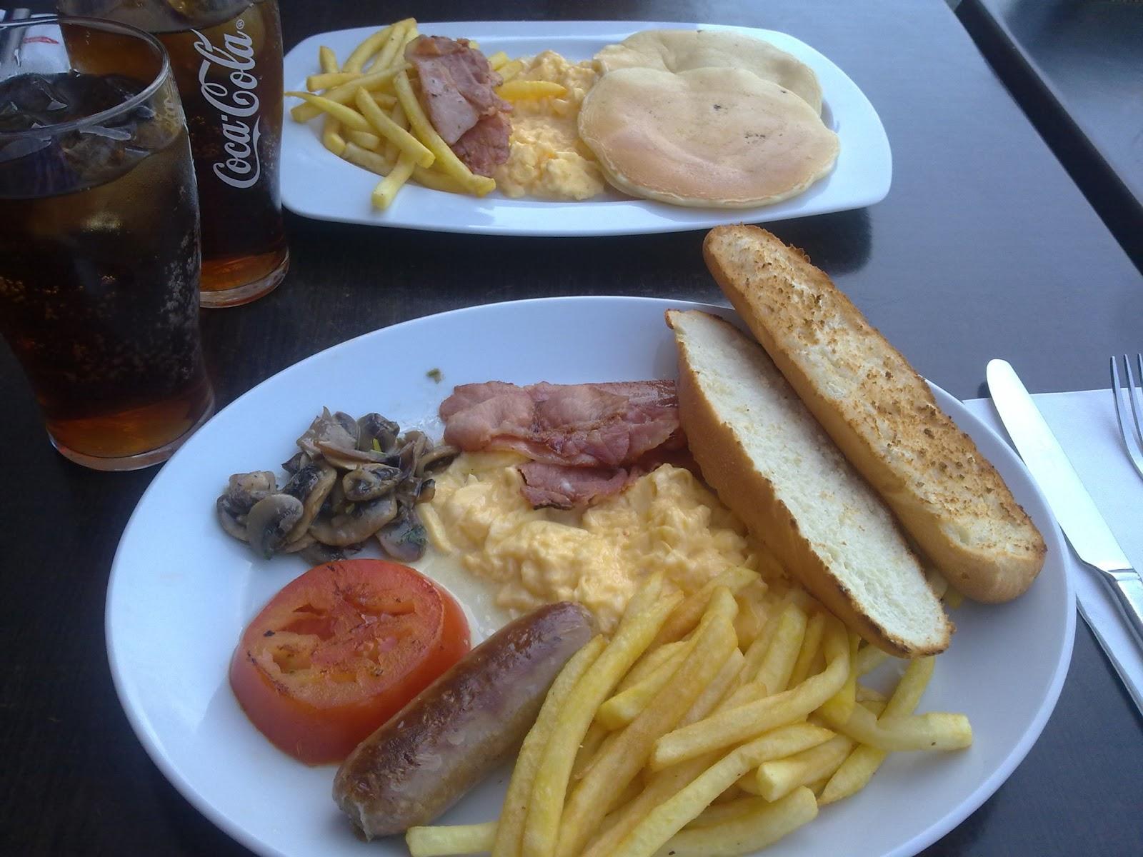Desayuno Americano Vips Calorias