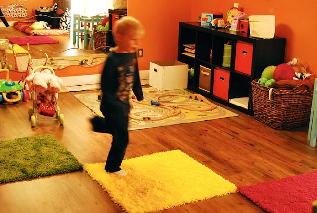 Kids Playroom Makeover