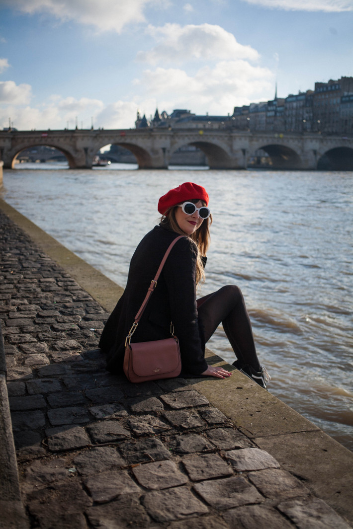 a day in Paris: the banks of the Seine
