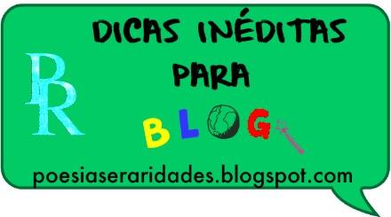 dicas exclusivas para blog