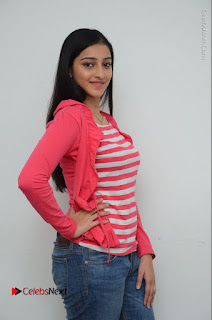 Telugu Actress Mouryani Latest Pos in Blue Denim Jeans  0061.JPG