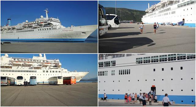 Εκατοντάδες τουρίστες στην πόλη της Ηγουμενίτσας από το κρουαζιερόπλοιο «Thomson Celebration»
