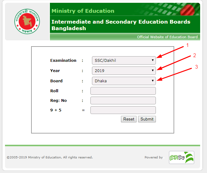 SSC Result 2019 | All Education Board Results