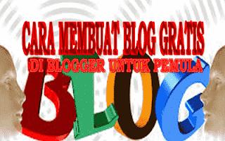 Cara Bikin Blog Gratis di Google (blogspot-blogger) untuk pemula