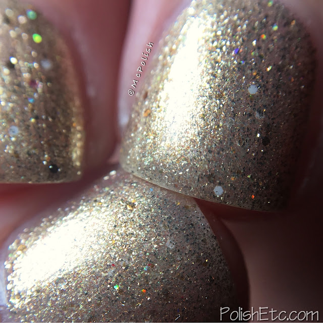 Moo Moo's Signatures - Secret Warrior Trio - McPolish - Sand Storm
