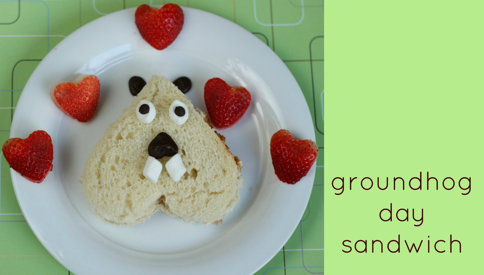 Sweet And Lovely Crafts Groundhog Day Sandwich