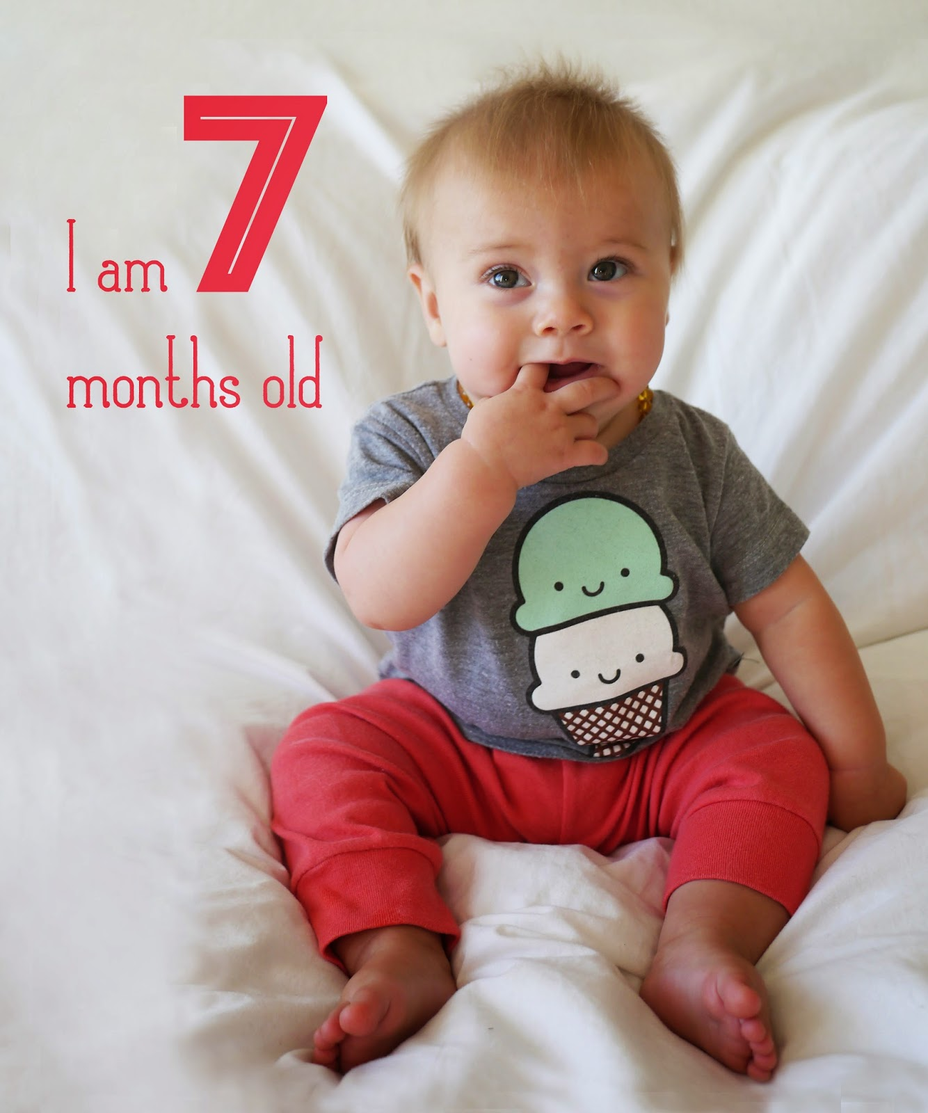 Little Hiccups: Seven Months Old