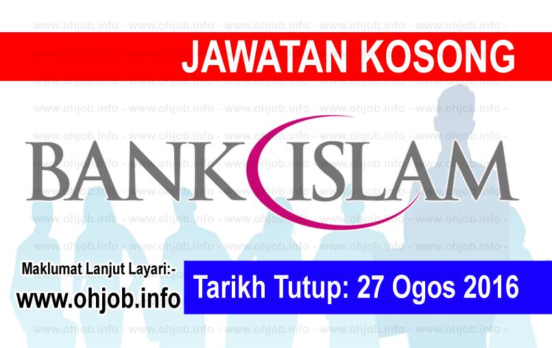 Jawatan Kerja Kosong Bank Islam logo www.ohjob.info ogos 2016