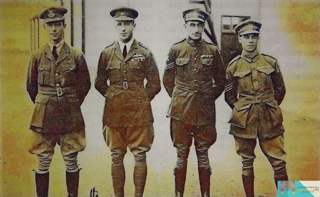 Kapten John Alcock dan Letnan Arthur Whitten Brown