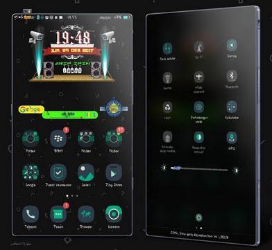Tema iPhone untuk Oppo (ColorOS & iOS) Tembus Akar - X sagon