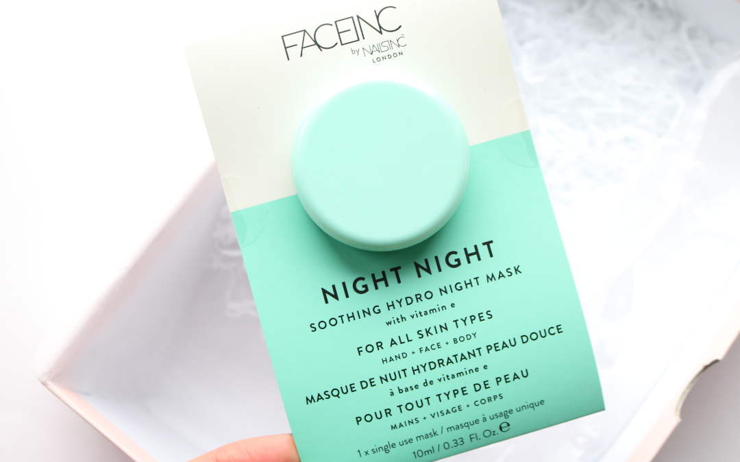 FaceInc by NailsInc Night Night Soothing Hydro Night Mask