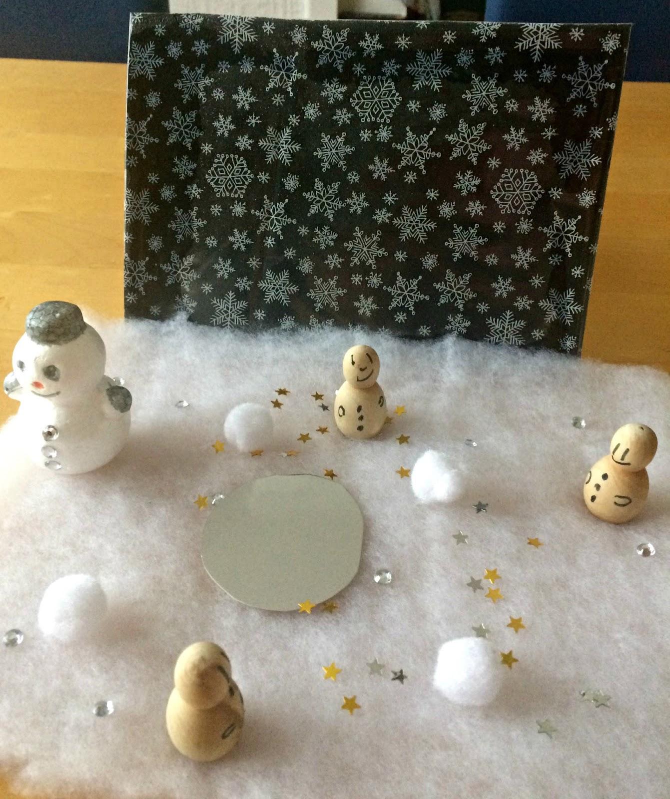 The final snow scene