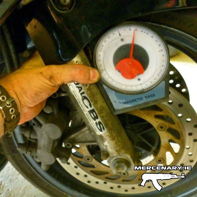 How to Lower a CBR 1000F