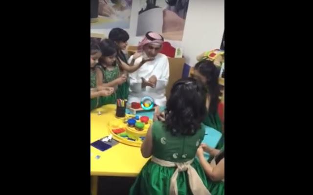 بالفيديو : وزير التربية والتعليم السعودي يجلس مع التلاميذ ويداعبهم!!!!