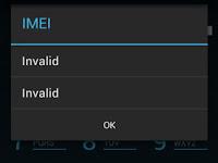 Cara Mengembalikan IMEI Advan S4E dengan MtkDroidTools