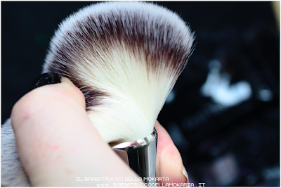 recensione powder brush   linea professionale Finisterre mineral