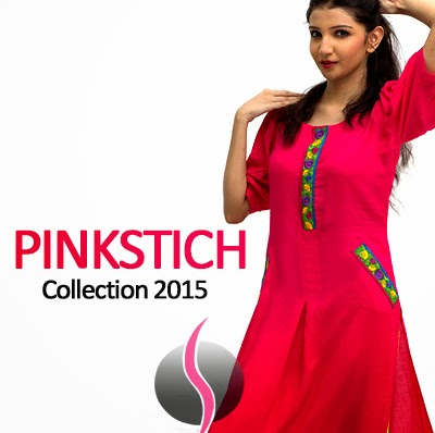 b0260b263d40 Pinkstich Winter 2015 - Kurti for Teenager Girls in Pakistan - She9 ...