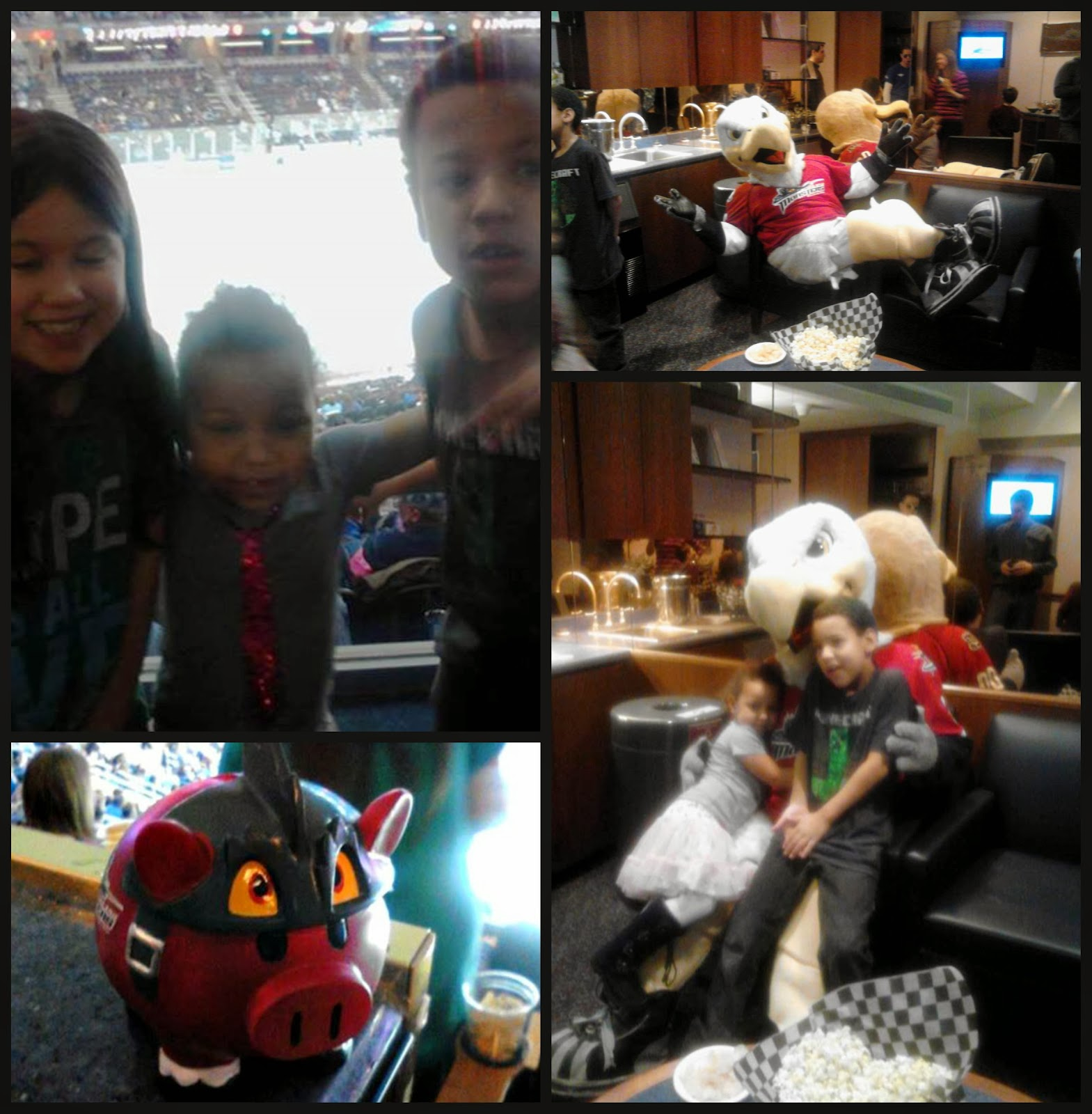 Kids having fun | 5 Facts About @MonstersHockey That Will Impress Your Mom #sponsored