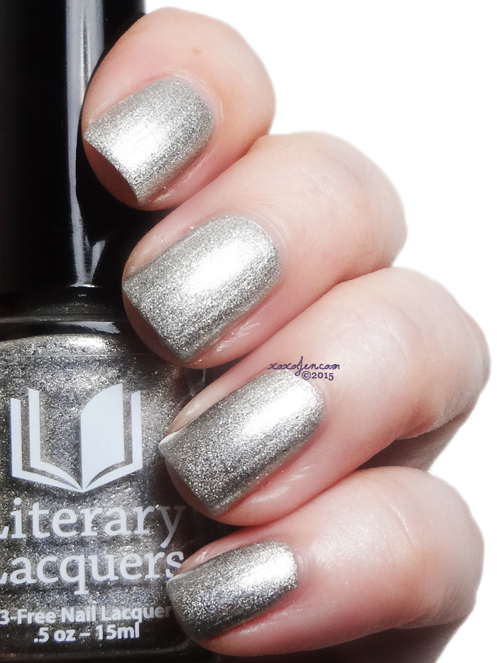 xoxoJen's swatch of Literary Lacquers Stinky Little Truck