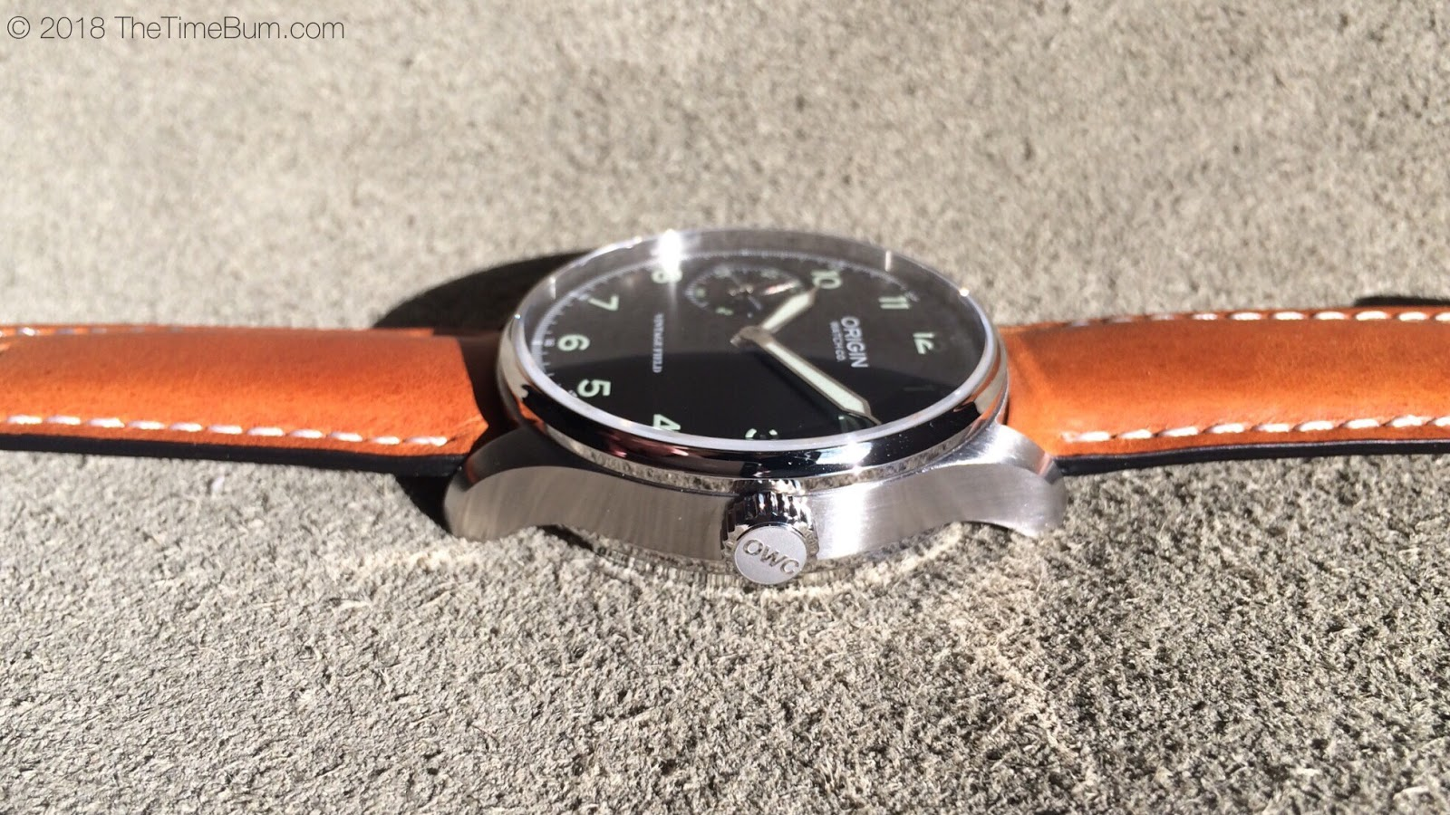 Origin Watch Company Field Watch 2nd Edition gray side