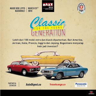 Yang Hobi Mobil Klasik Jangan Lupa Datang ke Event PPMKI 31 Maret 2018 Di karawaci